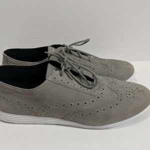 Cole Haan Grand Tour Suede Womens Oxford Sneaker